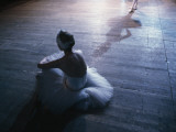 Ballet rehearsal  St Petersburg  Russia
