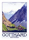Gotthard  Schweiz