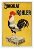 Chocolat Kohler Reproduction d'art