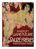 Parfum Liane Fleurie  Sauze Freres