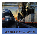 New York Central System  Along the Water Level Route