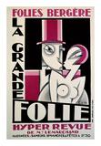 Folies-Bergere  La Grande Folie