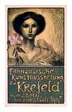 Franzosische Kunstausstellung zu Krefeld