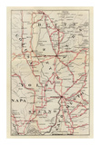 California: Colusa  Yolo  Napa  Butte  Yuba  Sutter  Solano  and Sacramento Counties  c1896