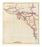 California: Ventura  Los Angeles  San Bernardino  Orange  and San Diego Counties  c1896