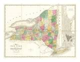 Map of New York  c1839