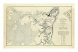 Civil War: Official Plan of The Siege of Yorktown Virginia  c1862