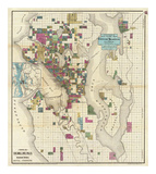 City of Seattle and Environs  c1890