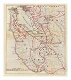 California: San Mateo  Santa Cruz  Santa Clara  Alameda  and Contra Costa Counties  c1896