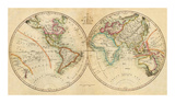 Map of the World  c1820