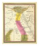 Egypt, c.1846 Reproduction d'art par Samuel Augustus Mitchell