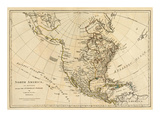 North America  As Divided amongst the European Powers  c1776