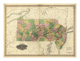 Pennsylvania and New Jersey  c1823