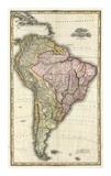 Composite: South America  West Indies  c1823