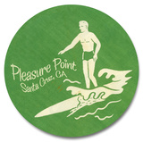 Pleasure Point Surfer