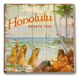 Honolulu Greets You