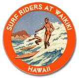 Surf Riders at Waikiki