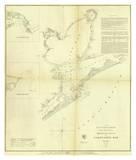 Galveston Bay  Texas  c1852