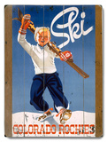 Little Boy Ski