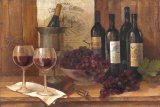 Vintage Wine Reproduction d'art par Albena Hristova