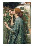 The Soul of the Rose, 1908 Giclée premium par John William Waterhouse
