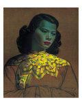 Jeune Chinoise Giclée premium par Vladimir Tretchikoff