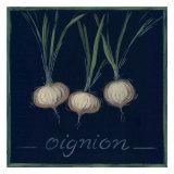 Chalkboard Veggies II