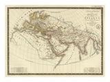 Monde Connu des Anciens  c1821