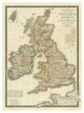 Iles Britanniques  c1828