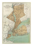 New York: Kings  Queens  Richmond  Rockland  Westchester  Putnam Counties  c1895