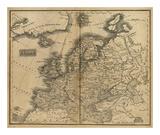 Europe  c1825