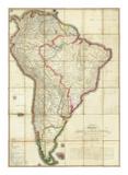Mapa Geografico de America Meridional  c1799