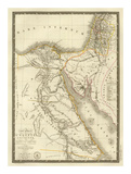Egypte Ancienne  Palestine  Arabie Petree  c1822