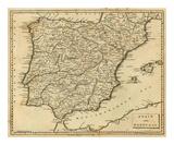 Spain  Portugal  c1812