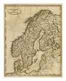 Sweden  Norway  c1812