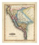 Peru, c.1823 Reproduction d'art par Fielding Lucas