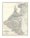 Belgium  Netherlands  c1861