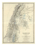 Palestine  c1861