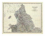 England  North Wales  c1861