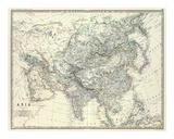 Asia  c1861