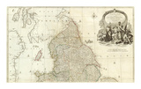 England and Wales (Northern section)  c1790