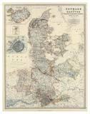 Denmark  Hanover  Brunswick  Mecklenburg  Oldenburg  c1861