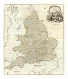 Composite: England  Wales  c1790