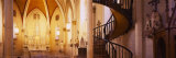 Interiors of Loretto Chapel  Santa Fe  New Mexico  USA