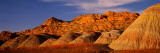 Bentonite Formations on a Landscape  Grand Staircase-Escalante National Monument  Utah  USA