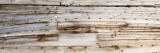Details of an Old Whaling Boat Hull  Spitsbergen  Svalbard Islands  Norway