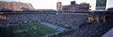 High Angle View of a Football Stadium  Sun Devil Stadium  Arizona State University  Tempe
