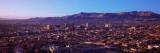 Aerial View of El Paso  Texas  Usa-Mexico Border