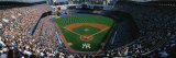 High Angle View of a Baseball Stadium  Yankee Stadium  New York City  New York State  USA