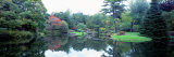 Pond in a Garden  Asticou Azalea Garden  Northwest Harbor  Maine  New England  USA